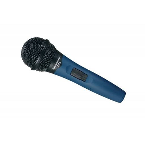 Microfono Vocal De Mano Cardioide Dinamico Midnight Blue Con Cable Audio Technica MB1K/CL