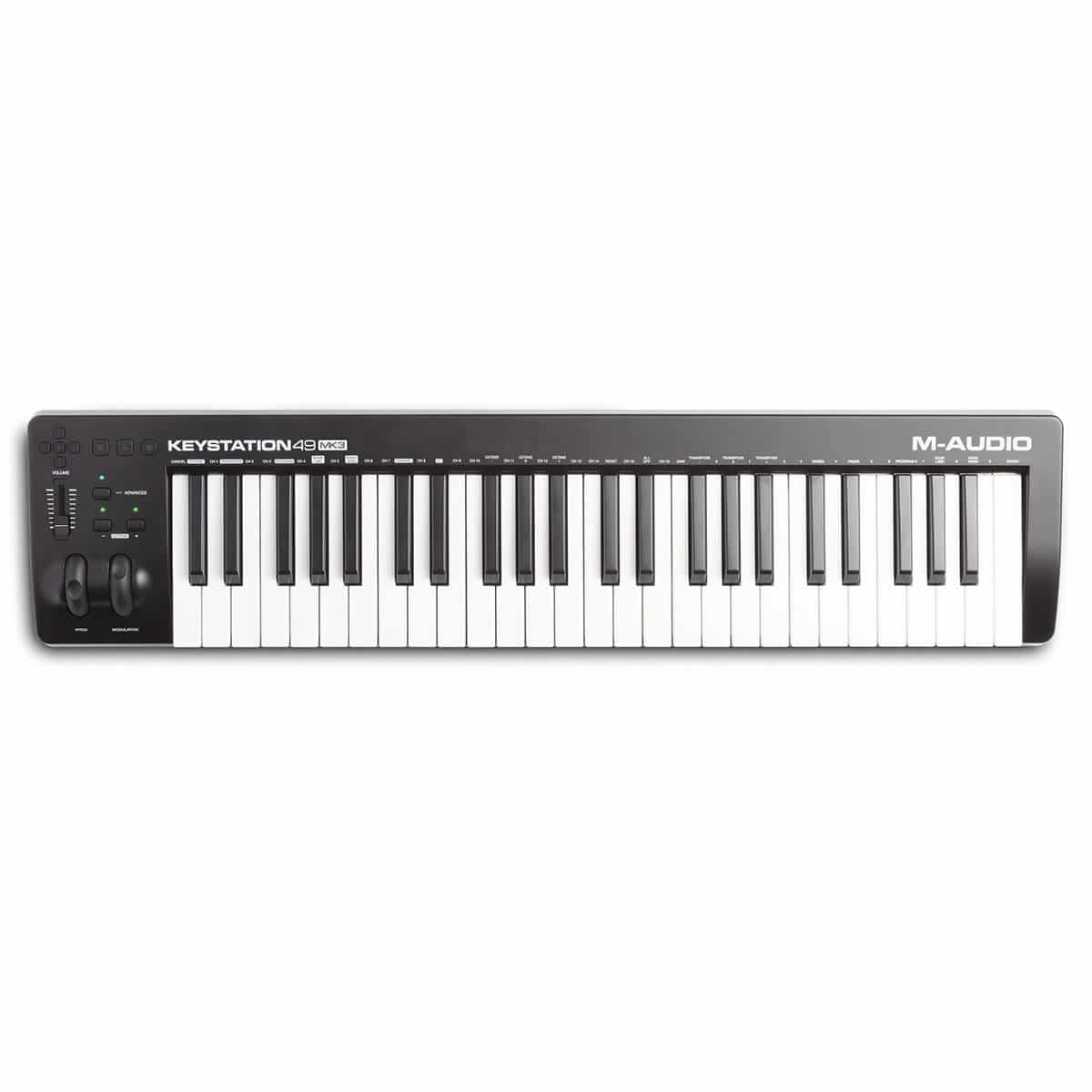Controlador MIDI M-Audio Keystation49MK3
